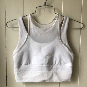 lululemon athletica Intimates & Sleepwear - Lululemon Double Tap Bra White Size 4